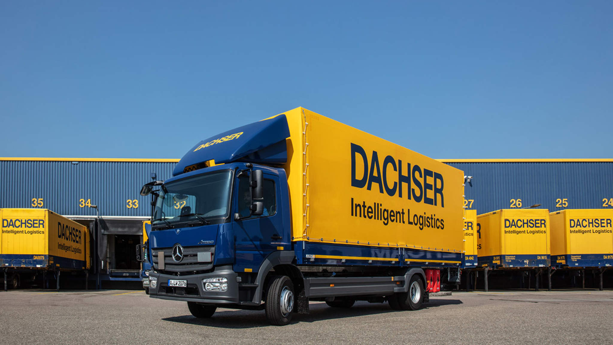 DACHSER expands its logistics centre in Hof.